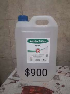 Alcohol etilico 96%