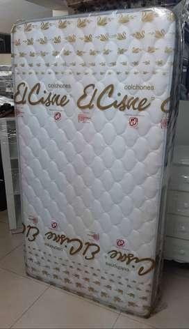 Colchón Cisne – Balcanes Clásico de 1 ½ plazas