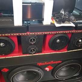 Audio rockford fosgate  punch  de alta calidad  de sonido
