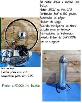 Kit motor eléctrico 350W