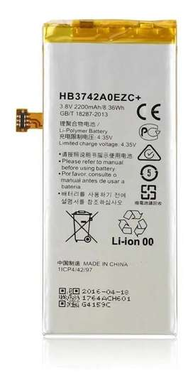 Bateria Huawei P8 Lite Hb3742 De 2200mah Nueva Bolsa