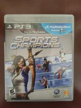 Vendo juego SPORT Champions PS3