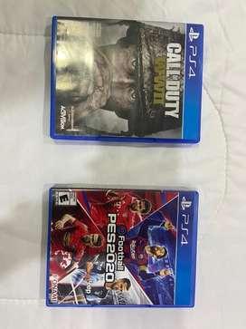 Vendo videojuegoa PS4