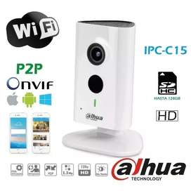 Cámara Wifi Dahua C15