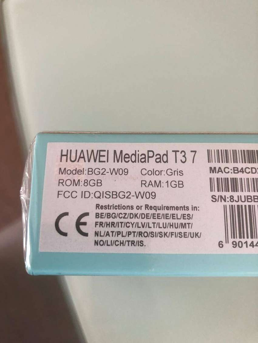 venta tablet HUAWEI MediaPad T3 7 0
