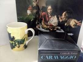 Taza Arte Caravaggio Mug Pocillo + Catálogo con Biografía