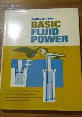 Basic Fluid Power Dudley Pease Libro MECANICA EN INGLES