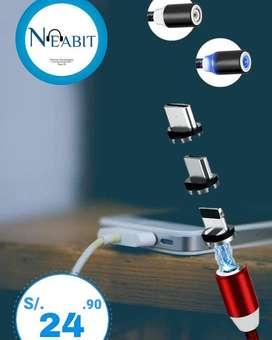 Cable con punta Magnética