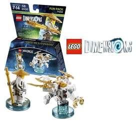 LEGO Dimensions Sensei Wu, Ninjago – 58 Piezas.