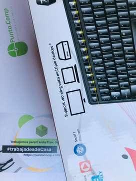 TECLADO GENIUS KM-8200 - MOUSE OPT. WIRELESS USB BLACKSP
