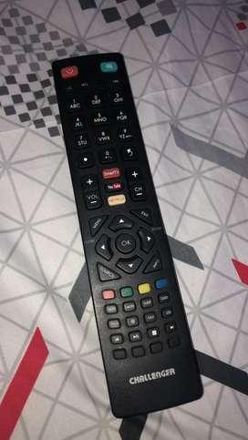 Vendo televisor challenger de 32 pulgadas smartv excelente estado