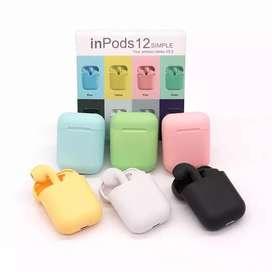 Audifonos inalambricos bluetooht i12 tws inpods