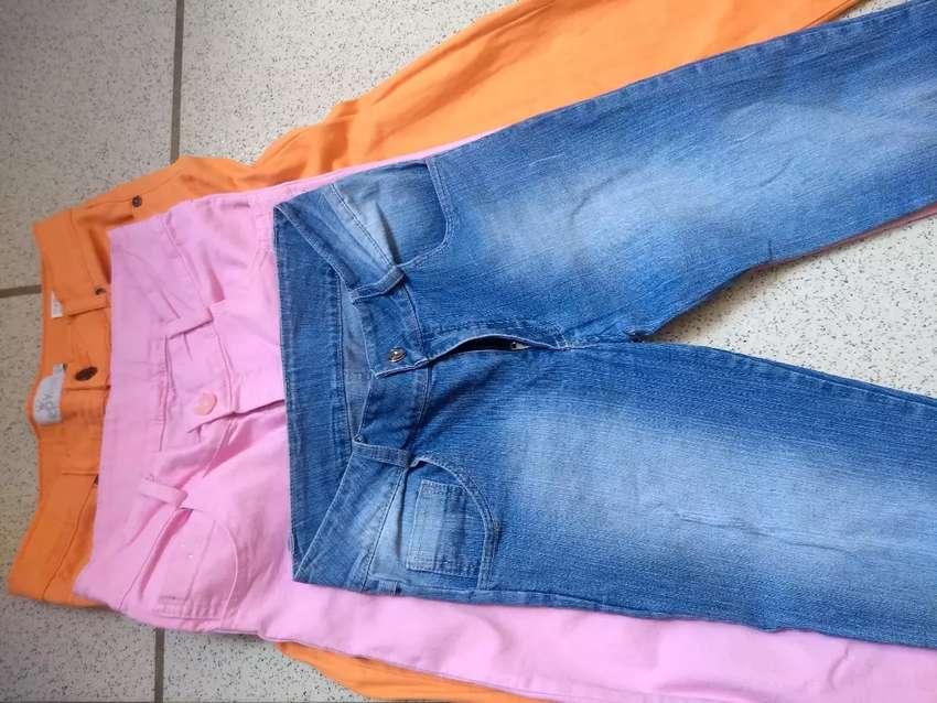 Vendo Pantalones para niña talla 12 0