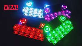 Mini teclado inalámbrico con luz LED