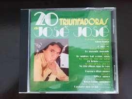 Jose Jose - 20 triunfadoras de José José - 1982 CD Musical ORIGINAL
