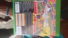 Vendo juegos de xbox One, asi como carga y juegas y control