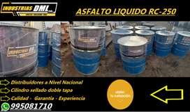 Asfalto rc-250 - emulsion asfaltica - asfalto diluido mc-30 puesto en obra o agencia a nivel naciona