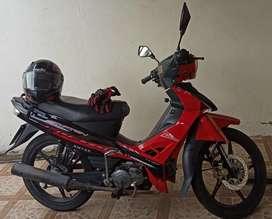 Motoneta Crypton Amazon Rojo