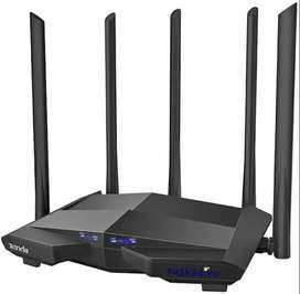 Tenda Ac11 Router Gamer Inalámbrico Gigabit 1ghz Cpu 2.4g/5g