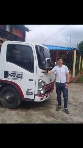Ofresco mis servicios como conductor de camion o cualquir  tipo de veiculo   servicio publico  o particular