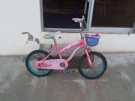 Bicicleta para niña de 4 a 7 años