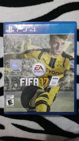 FIFA 17 Ps4 en muy buen estado precio negociable