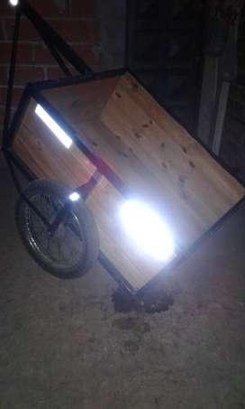 trailer para moto o bicicleta