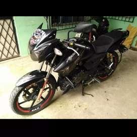 De Oportunidad vendo Moto TVS Apache RTR 180cc