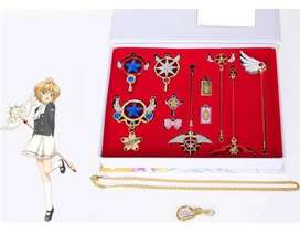 Accesorio Cosplay Anime Sakura Card Captor Collar Pendiente