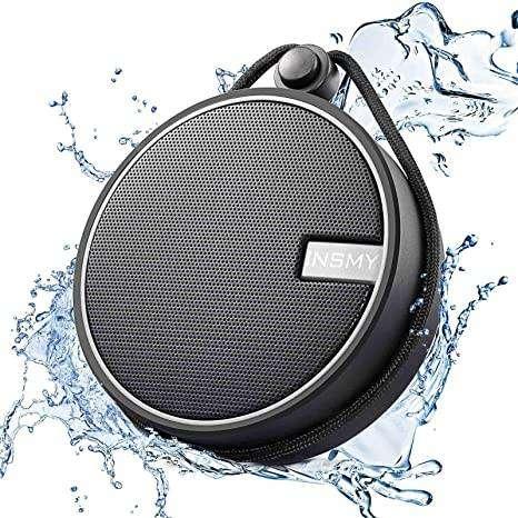 Parlante bluetooth INSMY resistente al agua.
