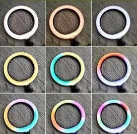 Aro De Luz Led RGB Multi Color 26cm Con Tripode 2m