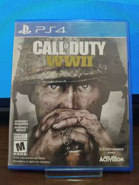 """Juego Playstation 4 """" CALL OF DUTY WWII """""""