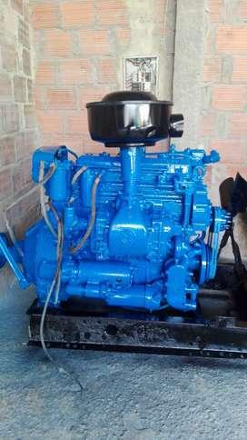 Motor Detroit Estacionario Diésel de 4 Pistones