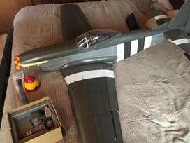 P51D top flite .60 ARF avión radio control