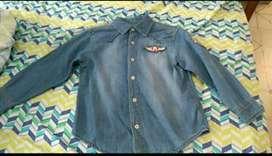 Camisa de Jean talla 8 para Niño