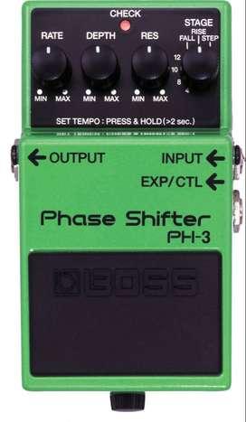 Oferta! Pedal análogo (Phase Shifter PH-3. BOSS)