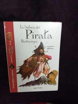 Libro La Historia Del Pirata Barbanegra