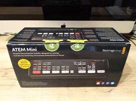 Blackmagic ATEM Mini Capturadora Design Atem Mini