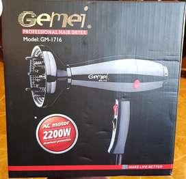 Secador Profesional Gemei #secador #original #salondebelleza #profesional #gemei