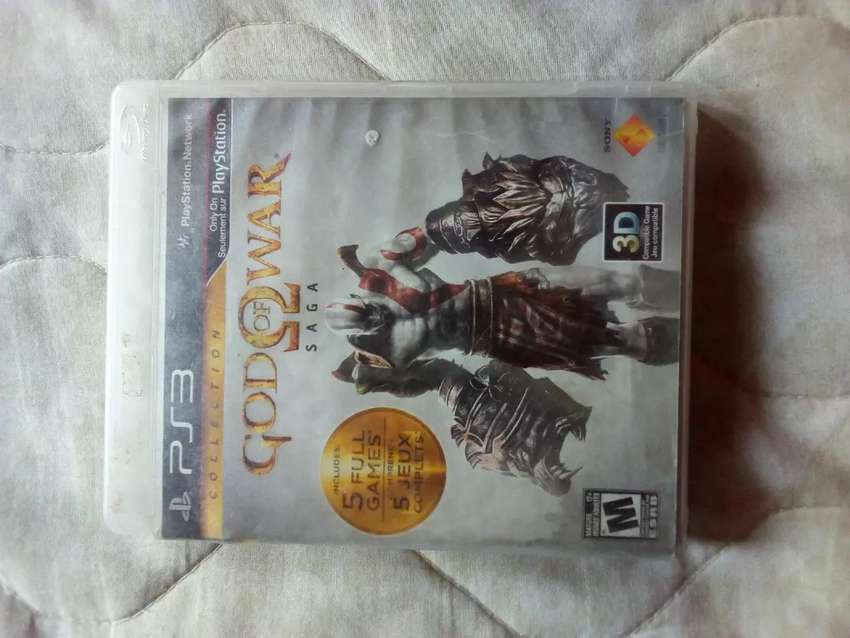 GOD OF WAR SAGA PS3 0