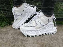 Zapatillas, Tenis  Color Blanco