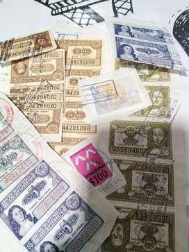 Estampillas de correo colombianas