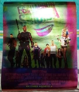 Cartel de película Escuadrón suicida