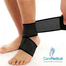 Tobillera Elastica Tipo Venda - 2 U - Ortopedia Care Medical