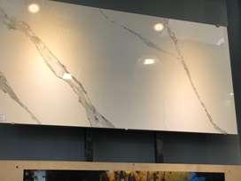 Placa porcelanato calcata white de 0.80 m x 1.60 m