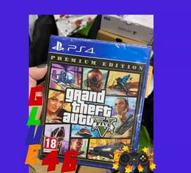 GTA v premium play station 4