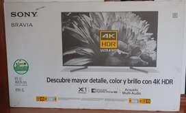 SONY BRAVIA 4K HDR Ultra HD NUEVO
