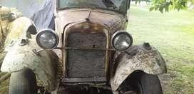 Vendo Ford A 31 con papeles viejos