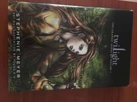 TWILIGHT THE GRAPHIC NOVEL VOLUME 1 - SAGA CREPÚSCULO INGLÉS LIBRO GRÁFICO