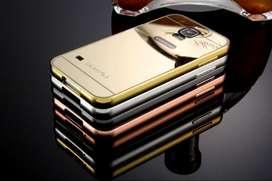 Carcasa Para Samsung Galaxy S5 color Rosada Protector Estuche En Aluminio